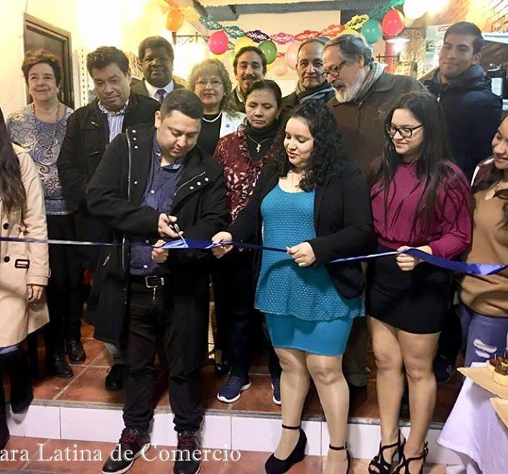 Inauguración del nuevo supermercado Punto Latino